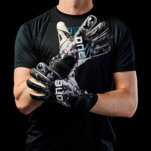 One SLYR Blaze Negative Cut Fingersave Goalkeeper Gloves
